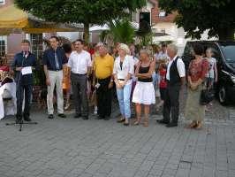 Übergabe Bürgerbus Eschach 2010