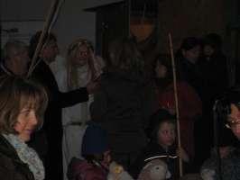 Weihnachtsmarkt Berg 2009 - Aktion Wunschengel