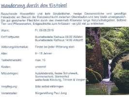 Ferienprogramm Bergatreute 2019 - Eistobel